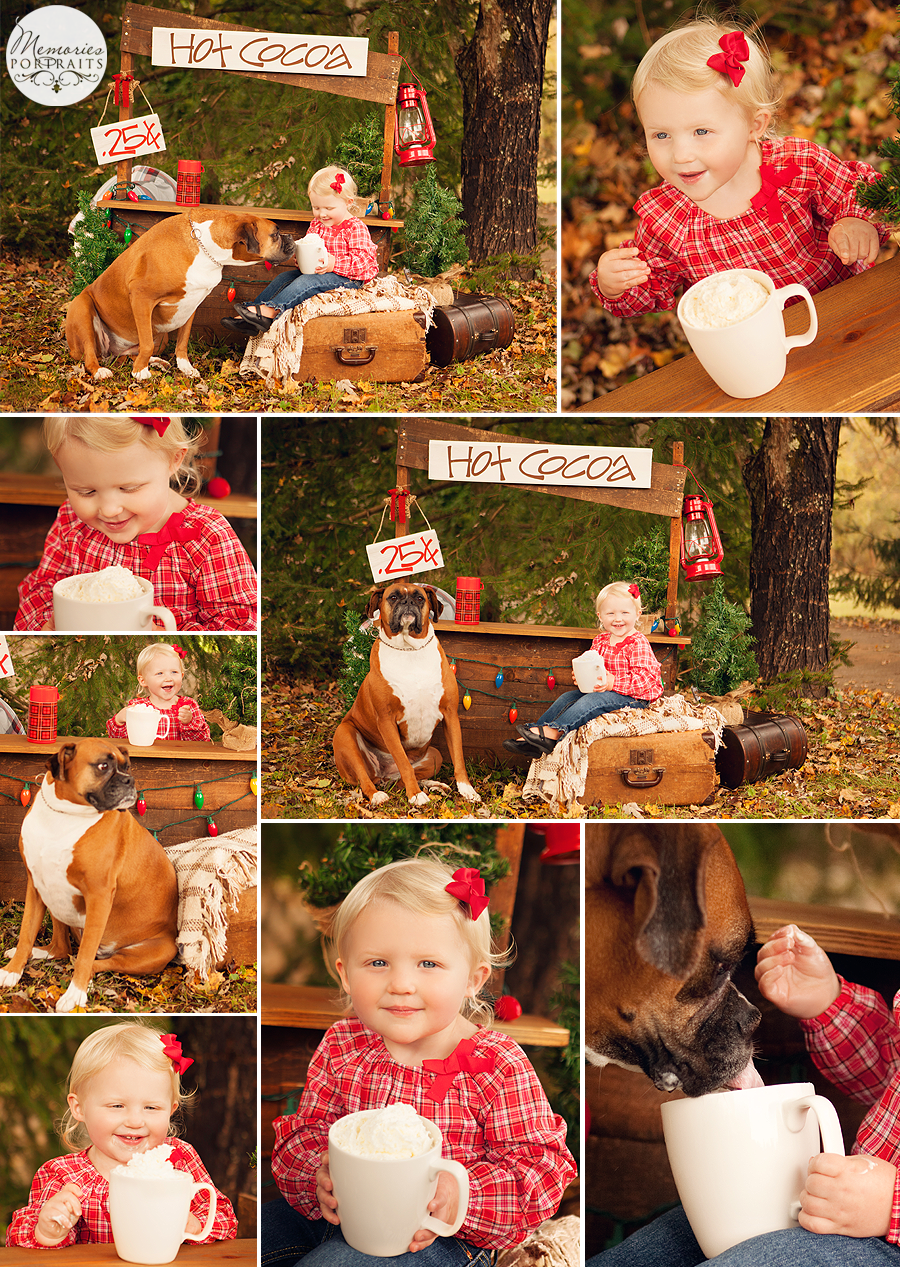 Hot Cocoa Mini Sessions Knoxville Children Photography
