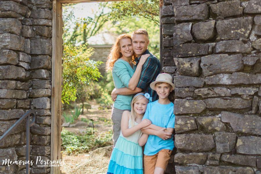 b0b2a28a39587 O'Neil Family {Knoxville Botanical Garden} » Memories Portraits
